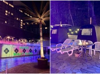 【サウナ 東京】『ネイキッド』がホテルのプールをジャックして開催中!