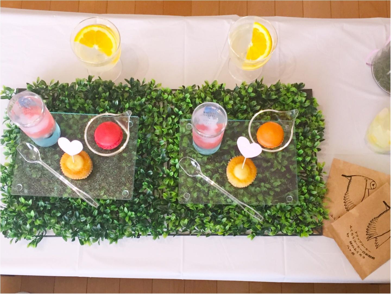 【デコ巻きずし】♡さちこ♡レッスンにて「夏を感じる2種」を作成♩レッスン後には素敵なティータイムも(*≧∪≦)✨≪samenyan≫_12