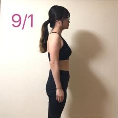 「薄くなった!」と言われるので、横から比べてみました♪【#モアチャレ 7キロ痩せ】