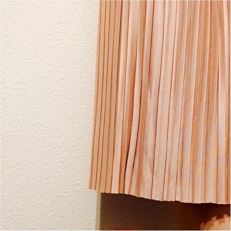 ピンクを味方に春を迎えよう!♡GUのプリーツスカートは今季も優秀◎!_2
