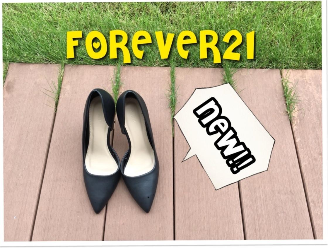 ▶︎▶︎〈FOREVER21〉のNEWパンプス〈¥2790〉でオフィスコーデもバッチリ‼︎_1