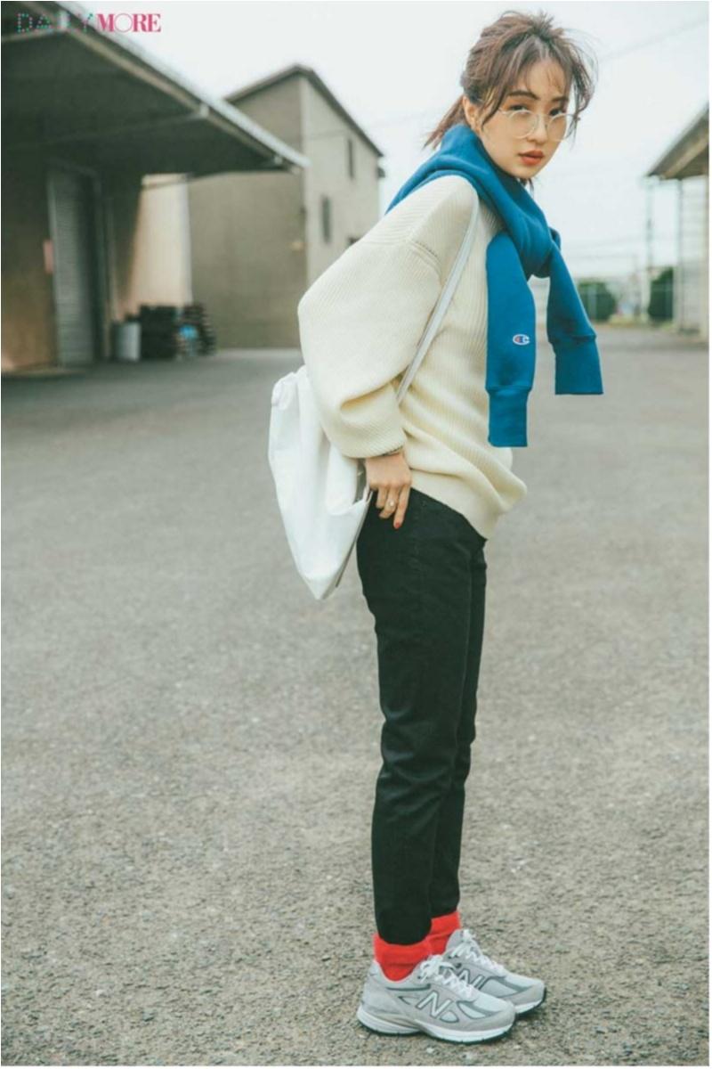「ニット×スキニー」のマンネリ注意報! スタイリスト直伝のアイデアで乗りきろう☆ 今週のファッション人気ランキングトップ3!_1_3