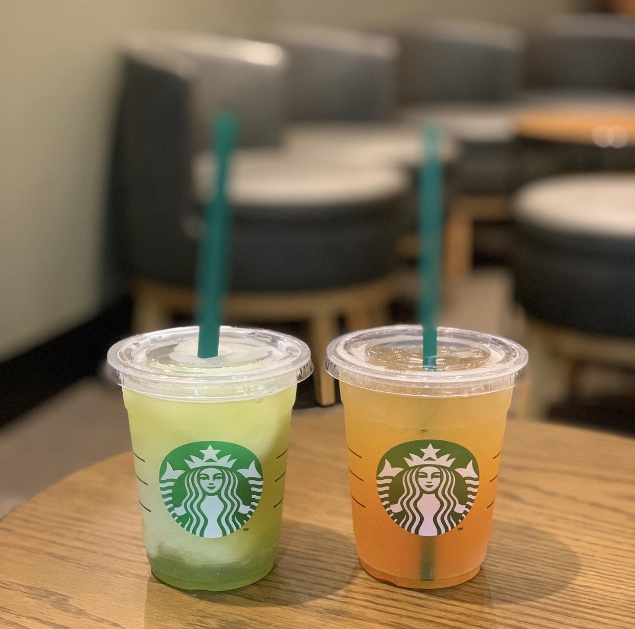 【STARBUCKS】お気に入りはこの2つ!!夏の楽しみ味わって来ました⑅*.♡_1