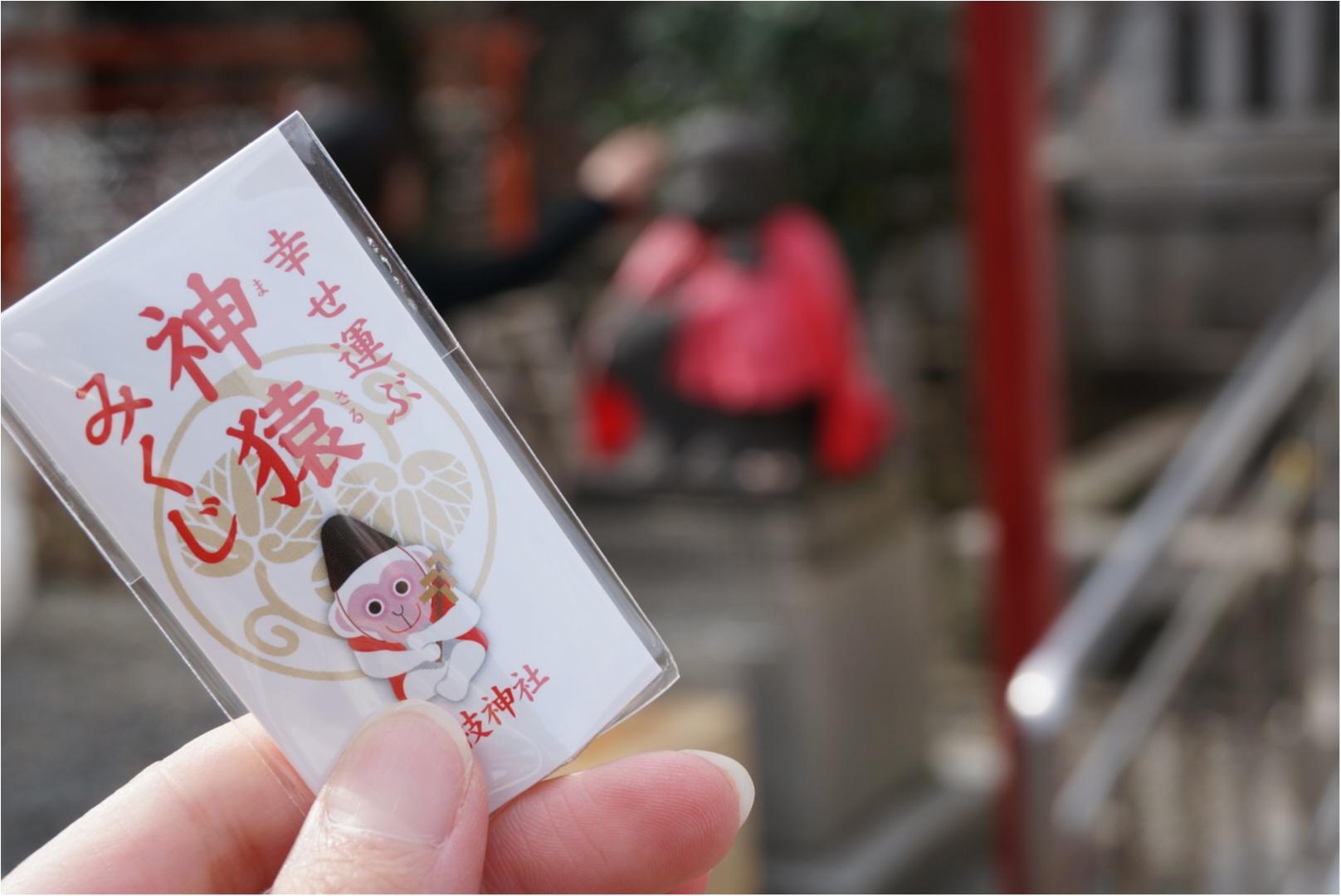 《幸せを運ぶ七色の神猿守が可愛い‼︎》東京赤坂にある日枝神社でひける人気の神猿みくじ♪_1