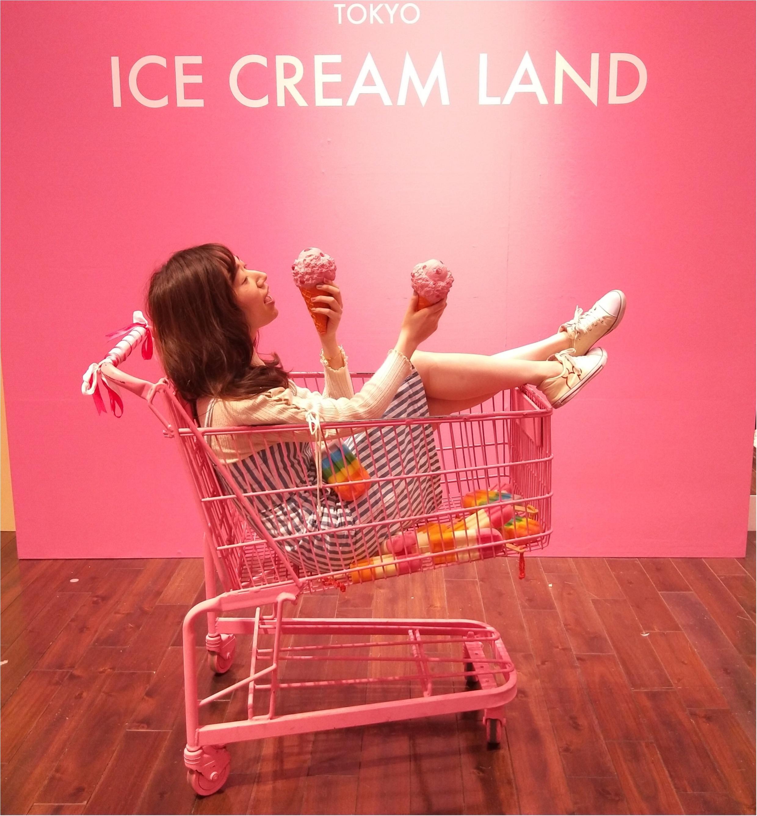 アイスクリームの夢の国「ICE CREAM LAND」でフォトジェニック空間を満喫♡横浜コレットマーレ5/27まで!_2_2