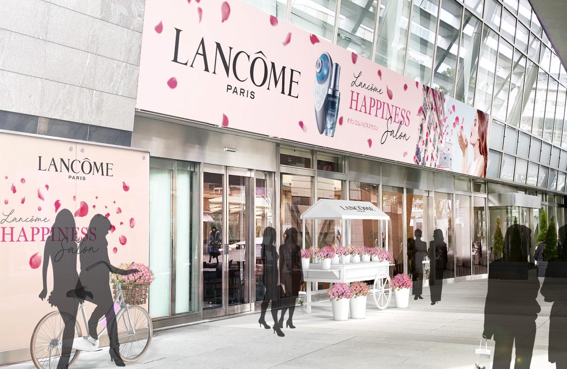 限定イベント「ランコム ハピネス サロン」は、ローズが舞う華やかな空間♡ 人気美容液  「ジェニフィック アドバンスト」が1年分当たるチャンスも!_1
