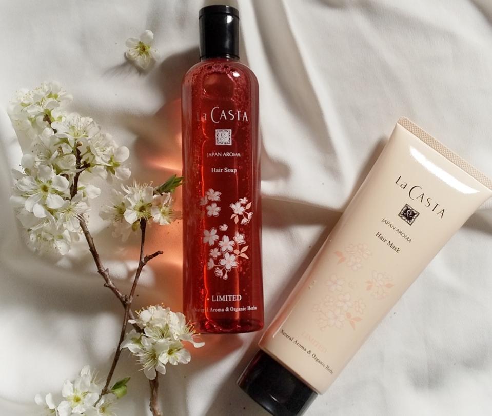 【春の香りに癒される】La CASTAから山桜をイメージしたヘアケアセットが発売中!_3