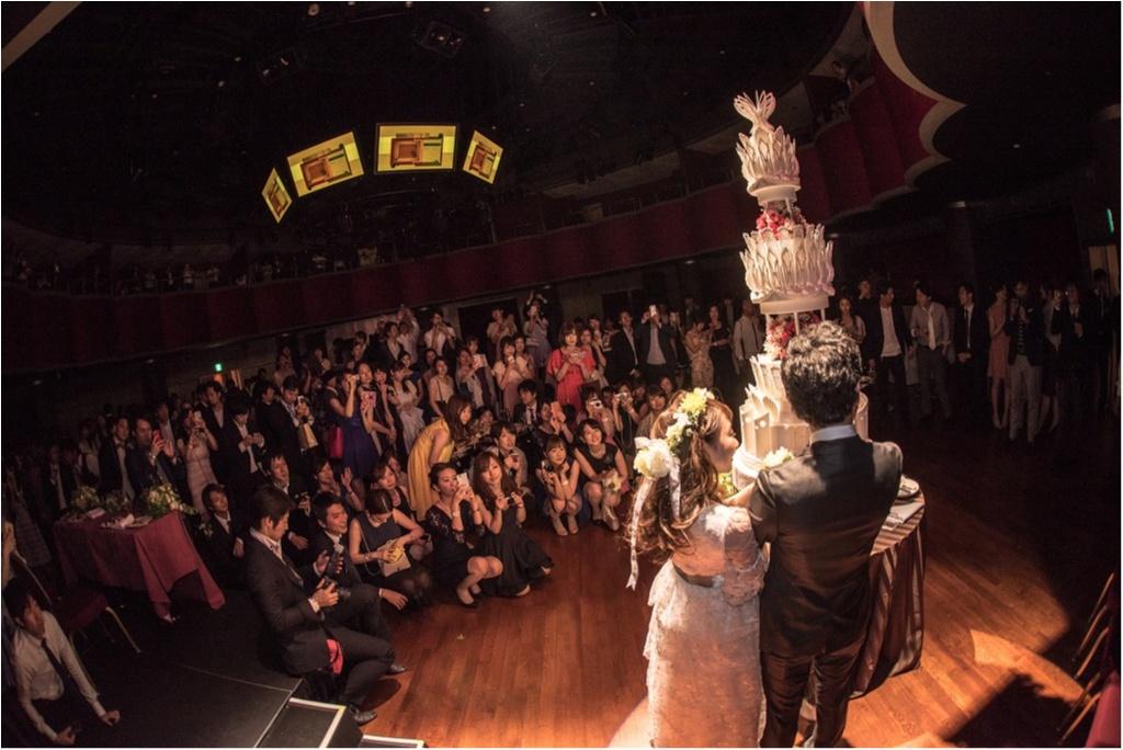 ―後半―【総勢281名!モアハピ部も参加してくれました】花道のある会場でみんなと共に思い出に残るステージに#さち婚_7