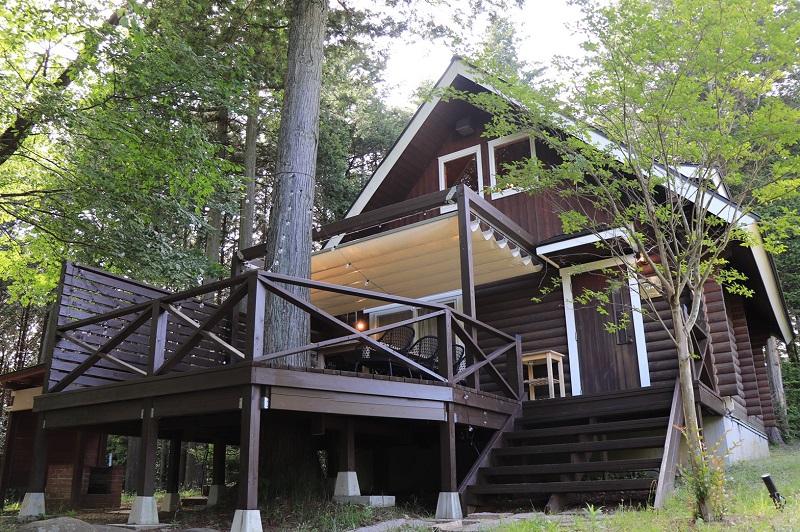 『ETOWA KASAMA』、FOREST CABINの外観