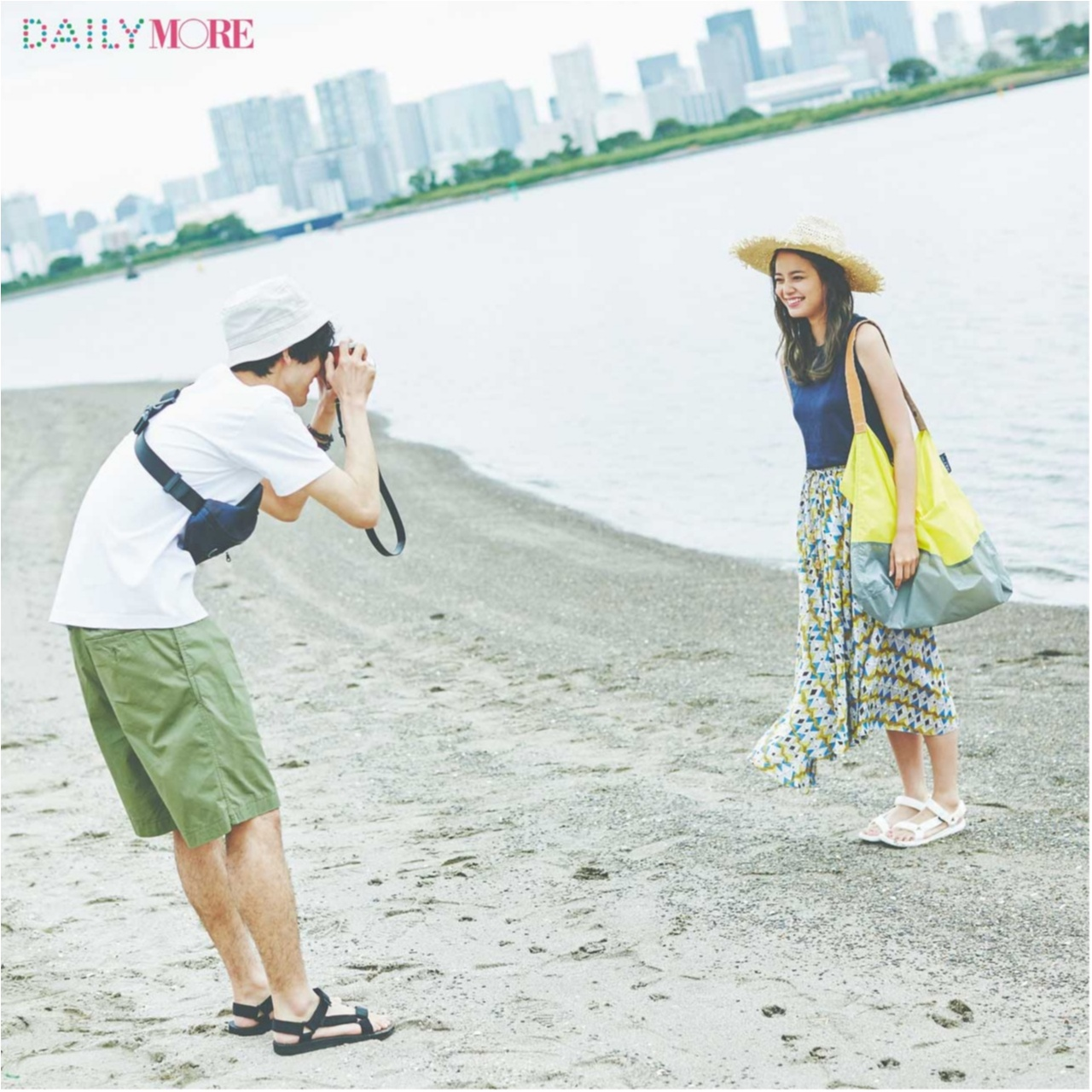 夏の好印象No.1カラー♪「ブルー」を使ったさわやかコーデまとめ♡_1_7