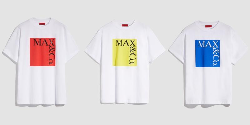 パキッとカラーに釘づけ☆『MAX&Co.』の新ロゴTシャツ、もう手に入れた?_1