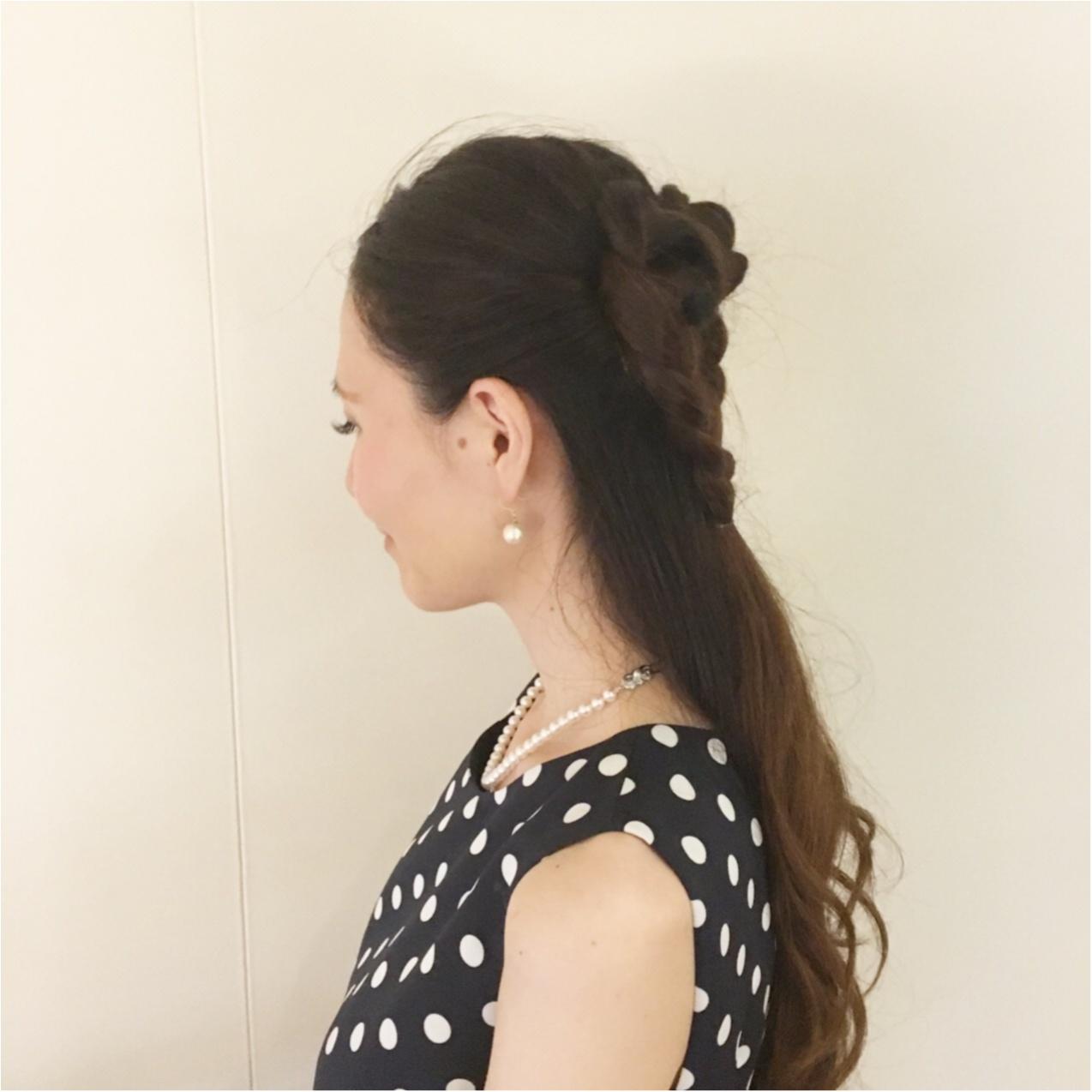 まさにアート♡かわいい結婚式お呼ばれヘア♡《 ハートの髪型 》_1