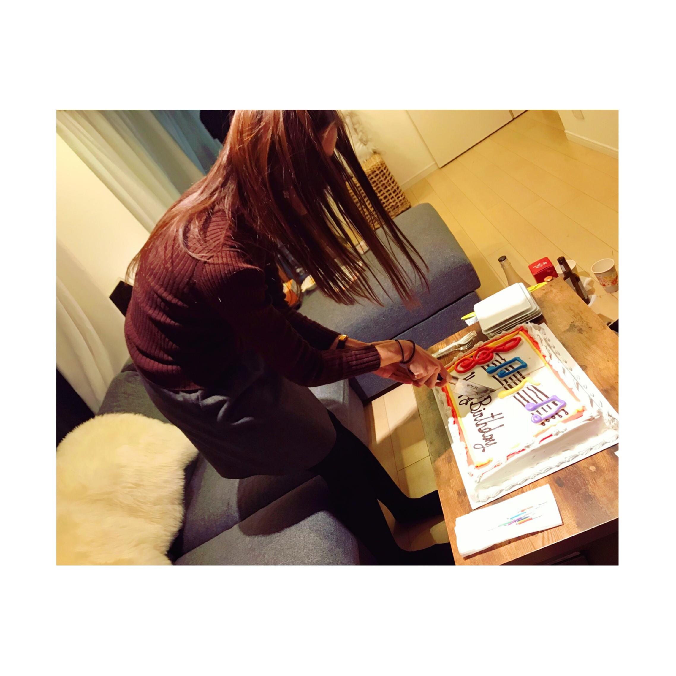 《インパクト大!★》【コストコ】の特大ケーキで誕生日のお祝いをしました❤️_4