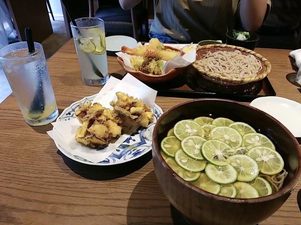 【京都のおすすめご飯屋さん】蕎麦と料理と酒 三味洪庵_2