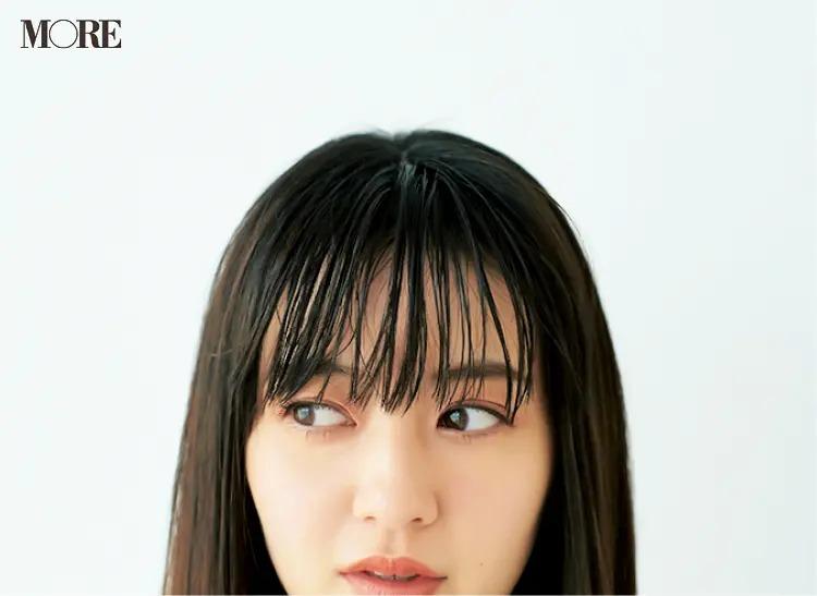 前髪のくせを直す方法1.水スプレーで前髪を湿らせる