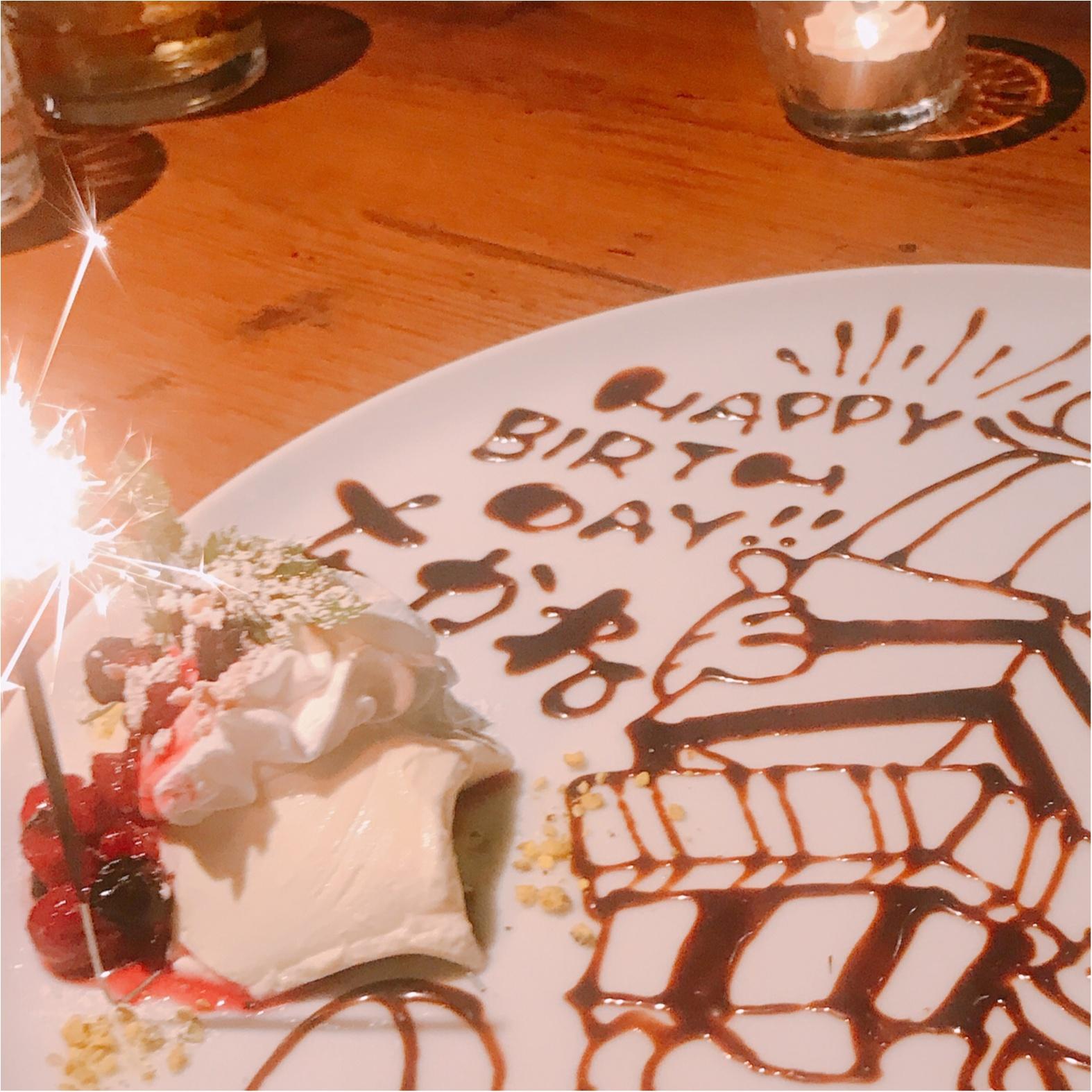 29歳になりました!《Cheese Dish Factory》でうれしいバースデーサプライズ♡_4