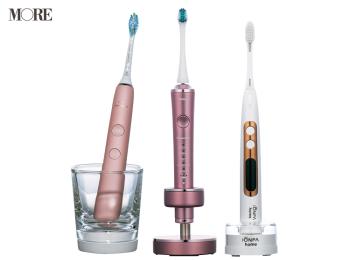 ランチ後のオフィス歯磨きは電動歯ブラシがおすすめ。頼れる歯垢除去力で、時間のない時も歯を美しくしてくれる♡