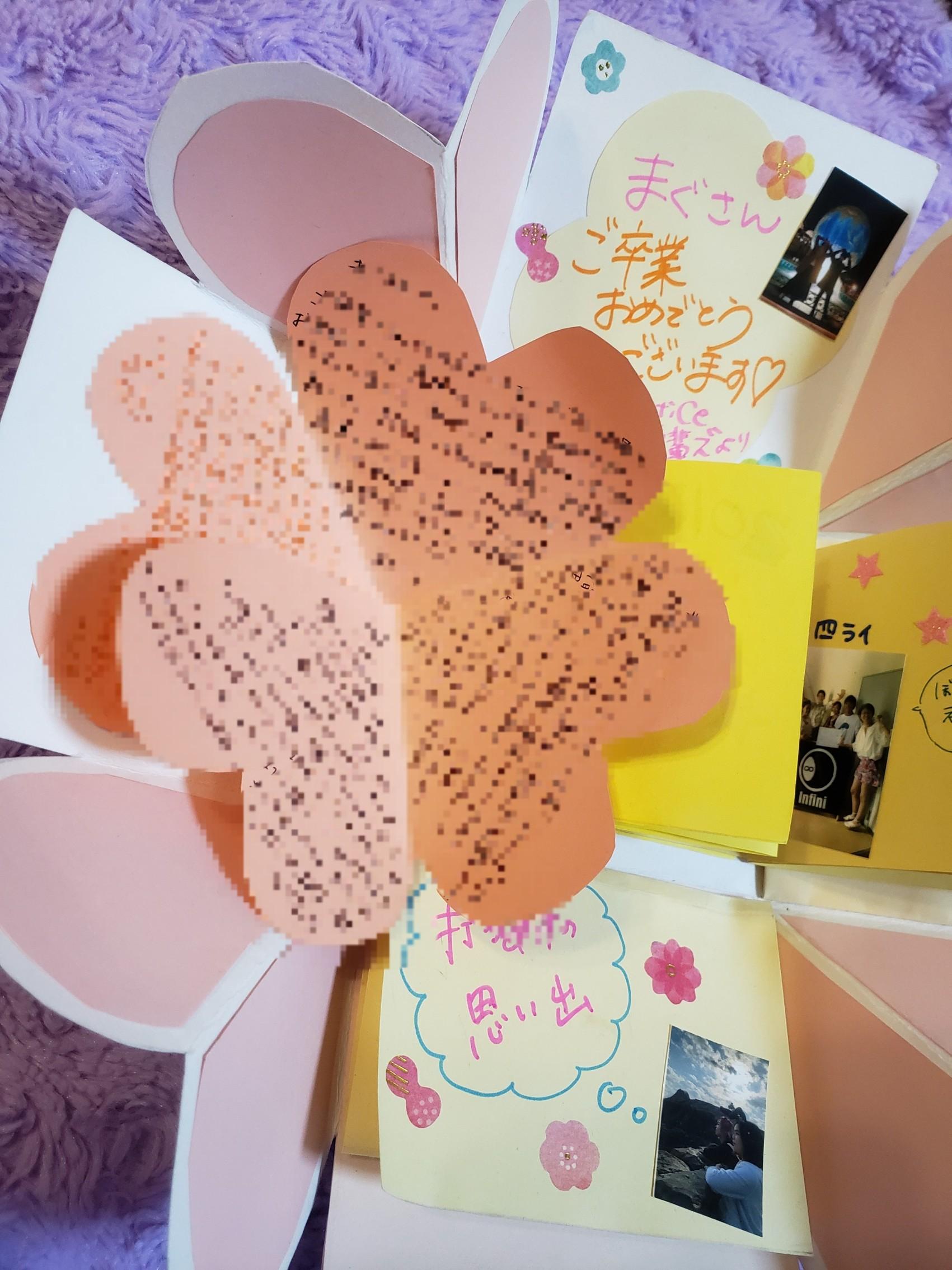 【感動しちゃう!】卒業ライブでもらった寄せ書きが感動の宝石箱\(^_^)/_7