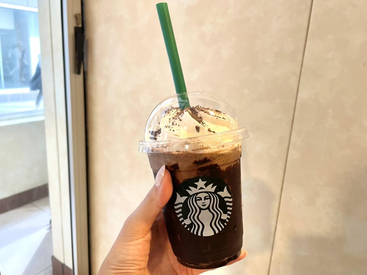 スターバックスコーヒーのフラペチーノ