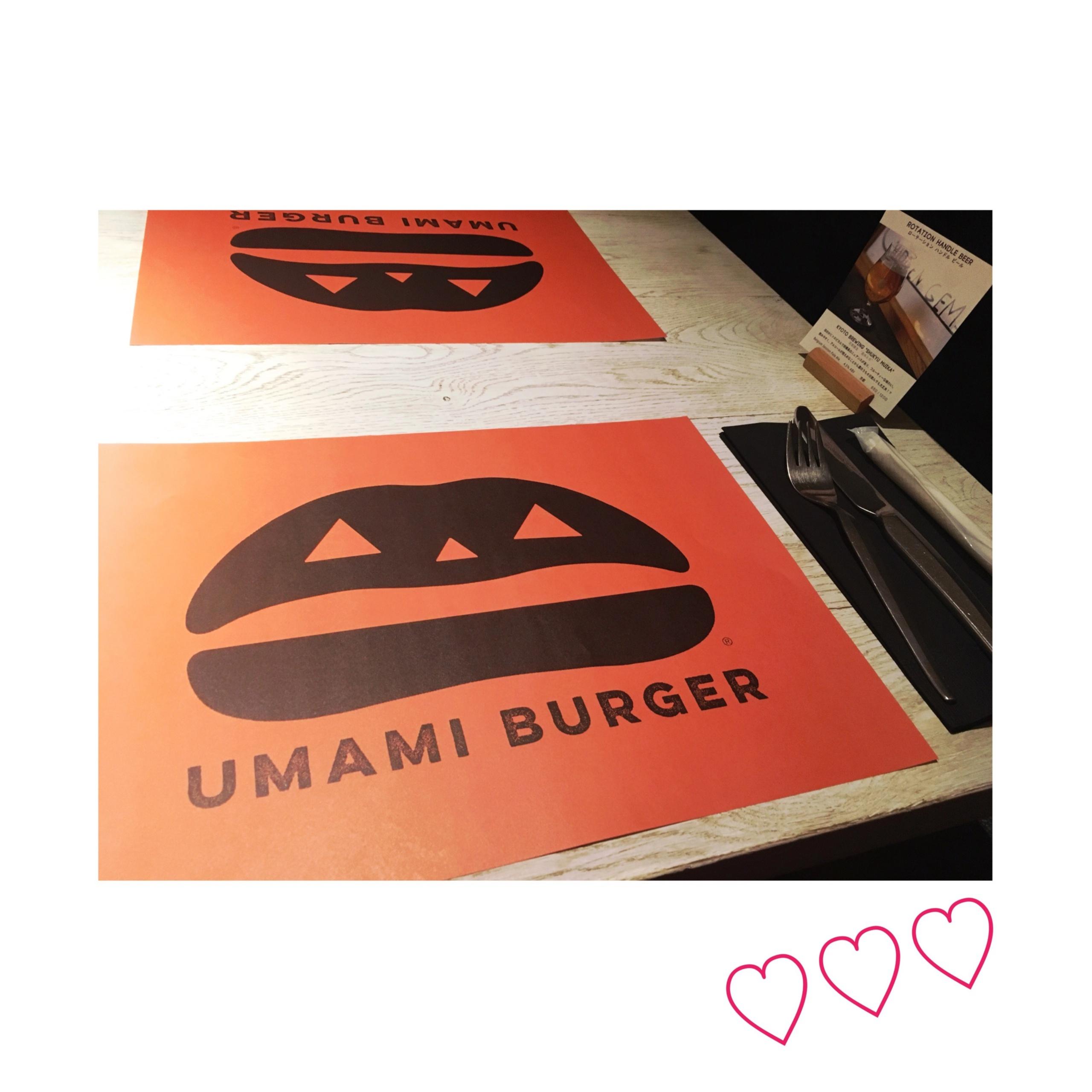 《ご当地MORE★》東京に来たら必ず食べてほしいイチオシの美味ハンバーガーはここ、【UMAMI BURGER】で❤️!_5