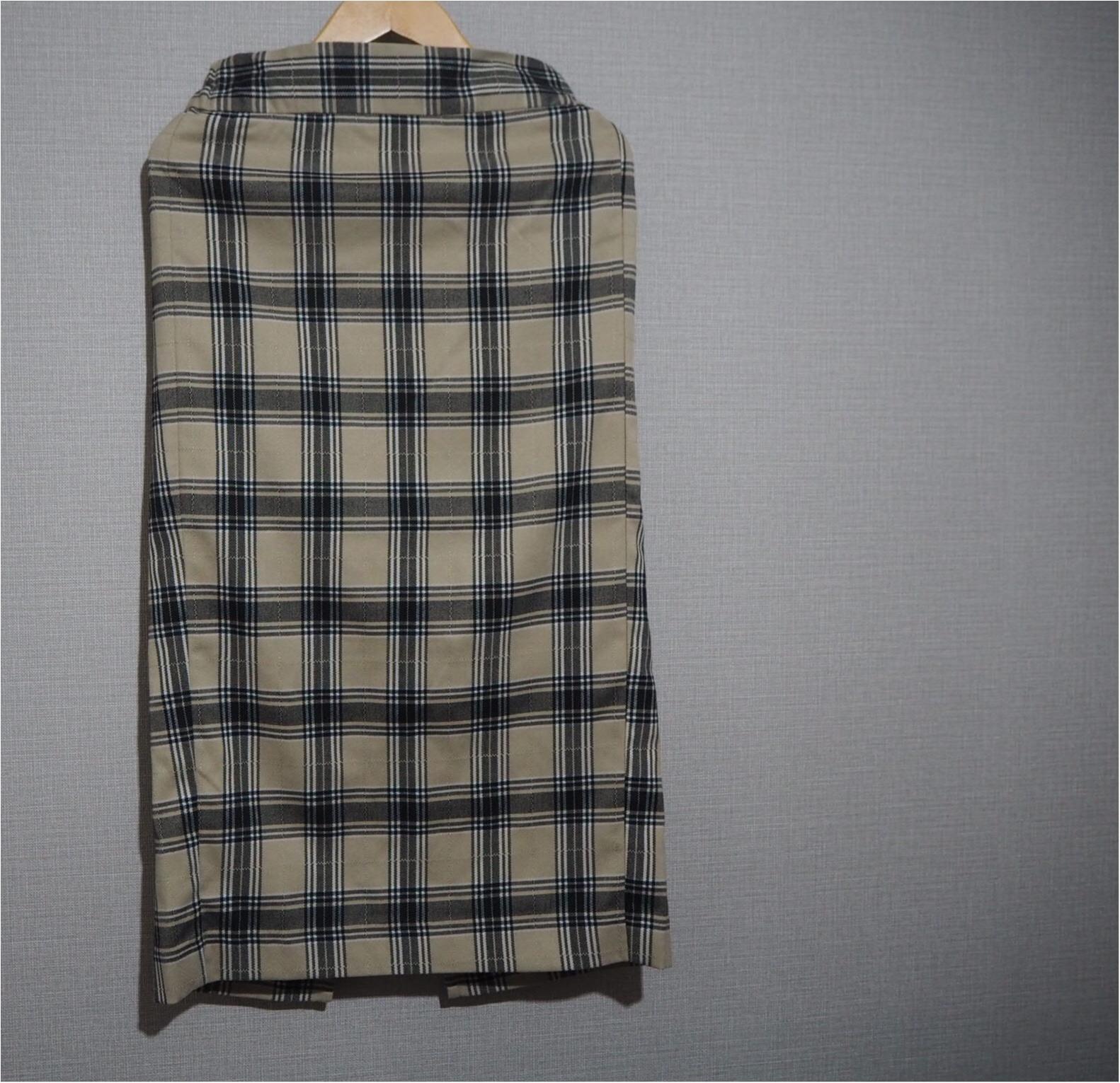 【GU購入品】チェックのタイトスカートで大人可愛く❤︎カジュアルにもレディにもまとめられて着まわし抜群優秀です☝︎_1