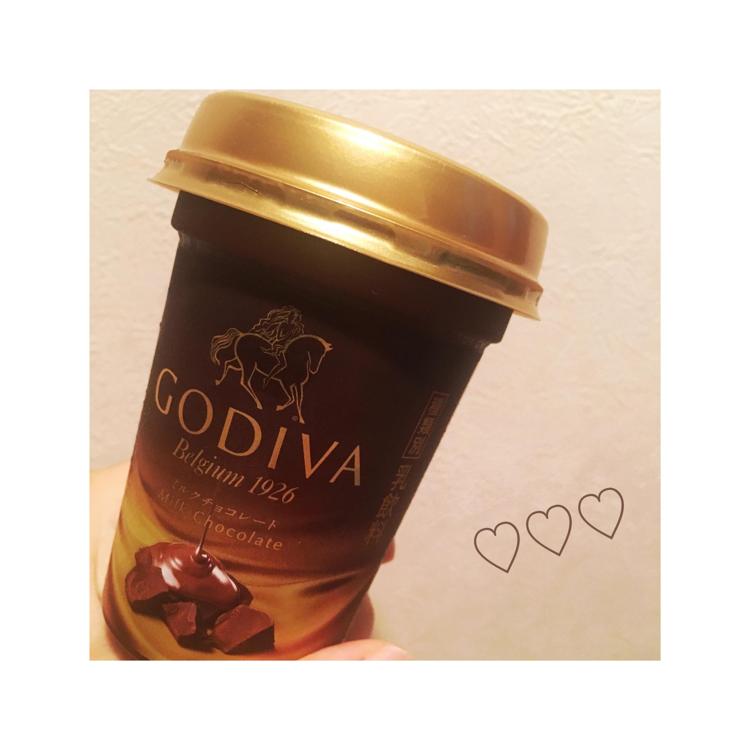 《本日9/12発売★》あの【GODIVA】がドリンクに⁈❤️至福のミルクチョコレート♡_1