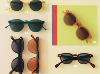 """おすすめサングラス2019夏版☆ 旬デザインは""""フレーム""""の色や素材で選んで!"""