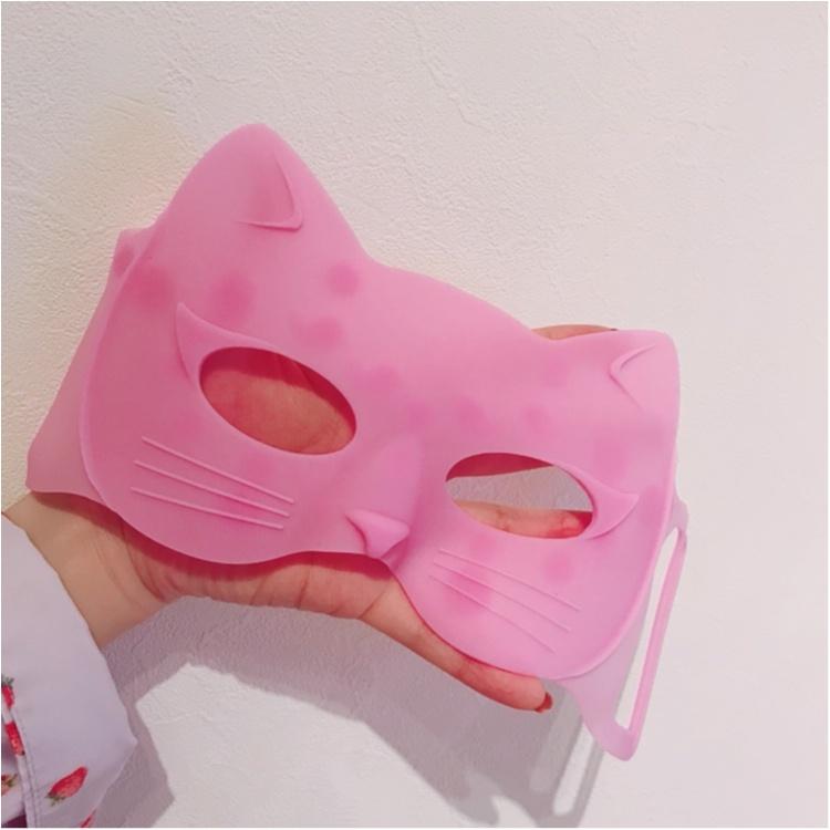 【コレ買っちゃいました♡】目元ケアに猫型アイマスク!♡_2