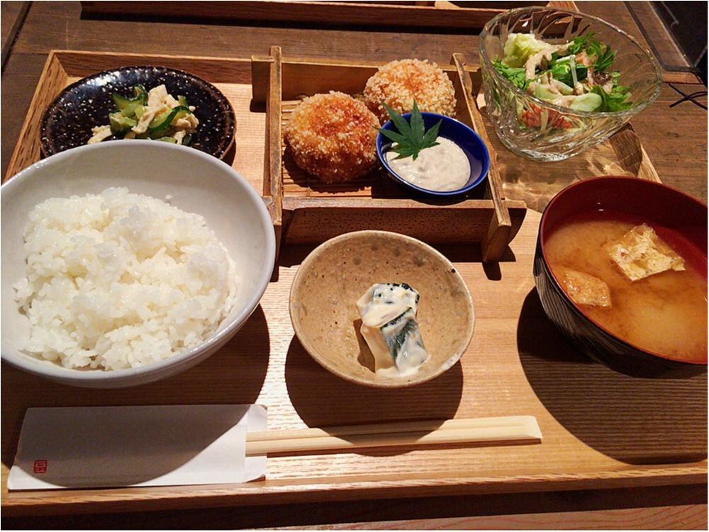 恵比寿のおすすめお豆腐料理ランチ♡♡_1