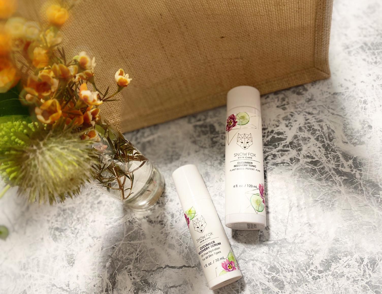 スキンケア スノーフォックススキンケア 化粧水 美容液 ヴィーガン植物由来
