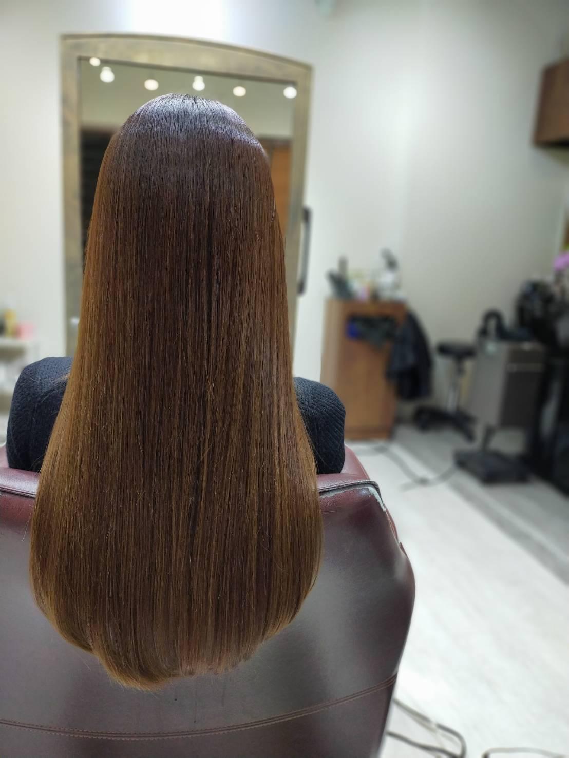 流行りの髪質改善やってみた_3