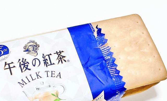 【新発売】コンビニ限定!人気のビスケットアイスが午後の紅茶とコラボ_3