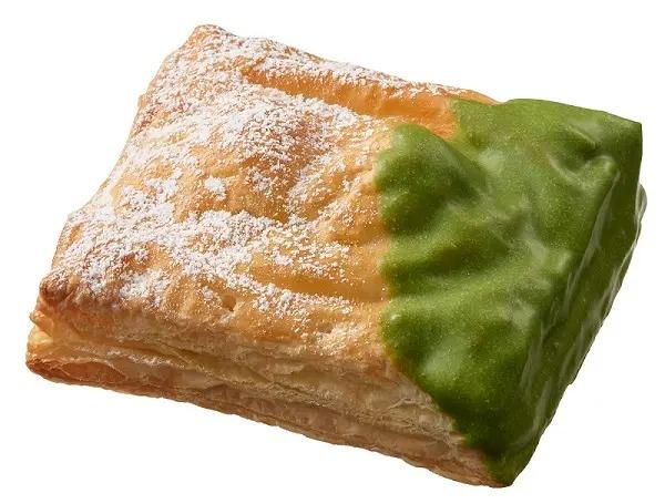 宇治抹茶チョコあずき白玉パイ