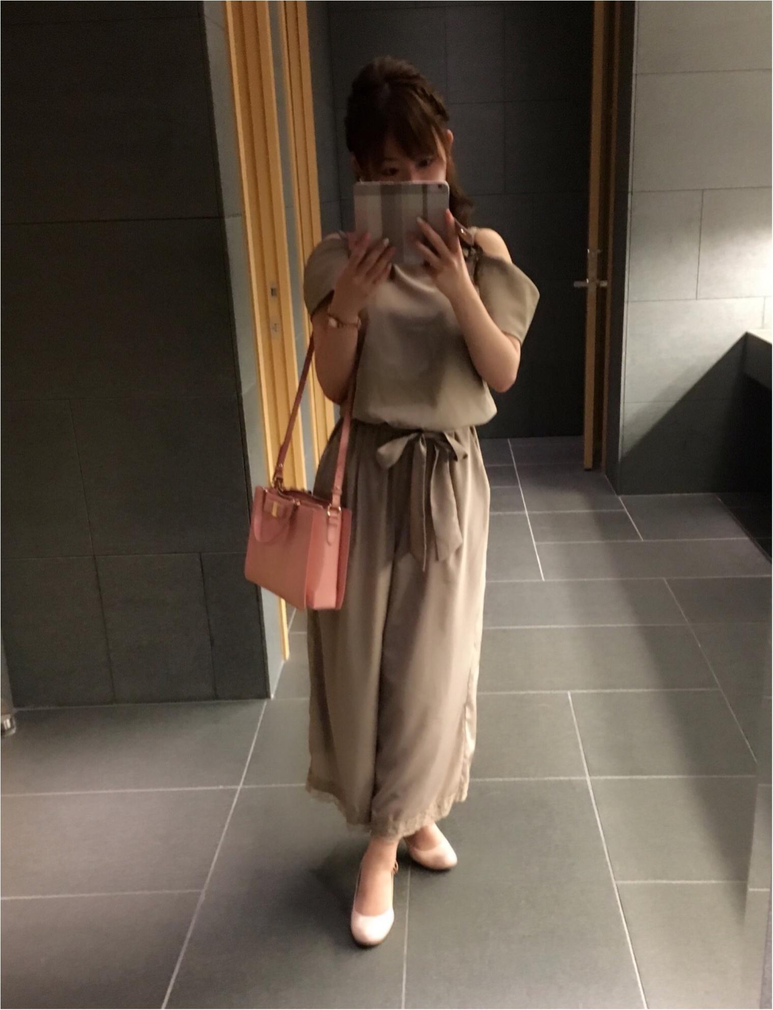 オフショルを着ても品をまとえるコツを考える❤︎Rirandtureのオールインワンで憧れこじはるコーデ♡♡_1