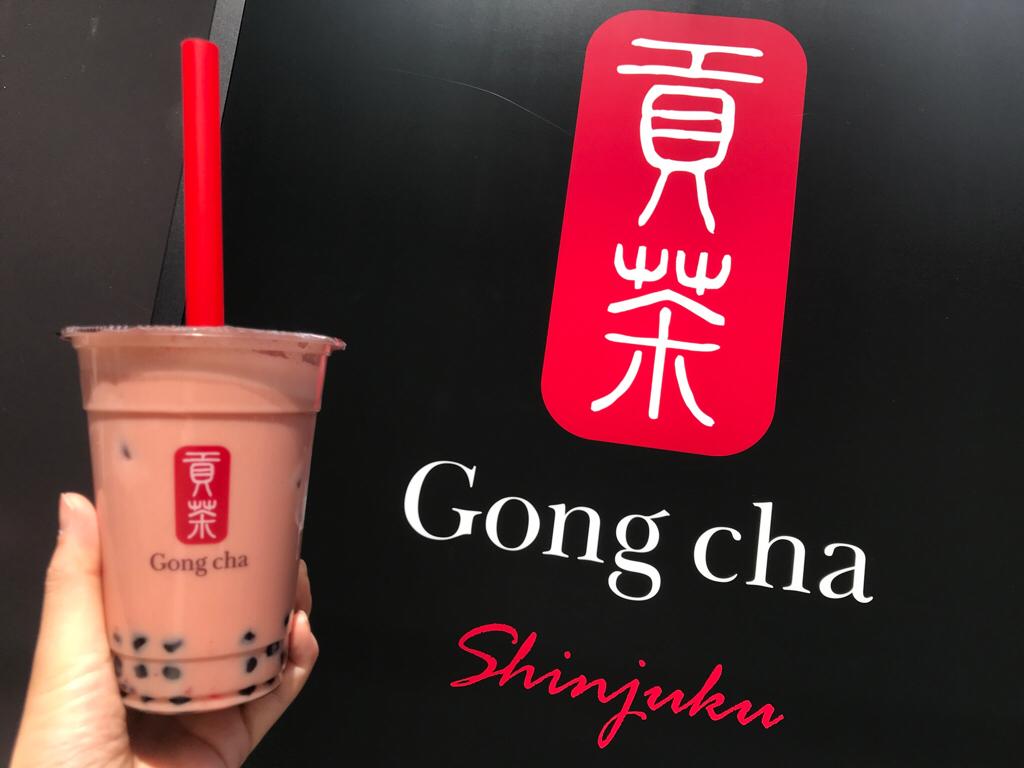 【Gong Cha】タピオカドリンクも春仕様♪《苺×ミルクティー×タピオカ》の最強コラボ♡_1