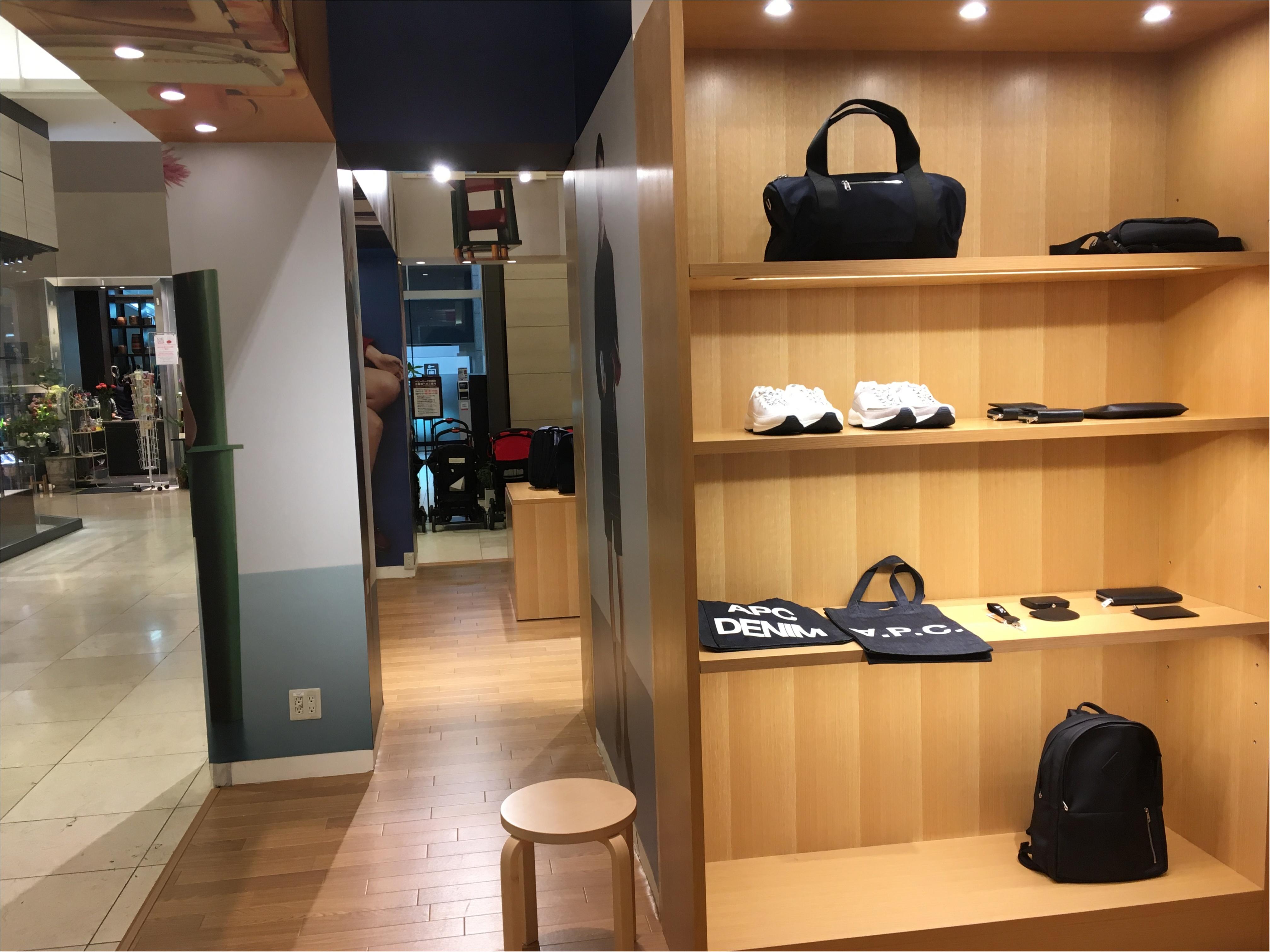 【今日から♡】A.P.C.限定バッグ&ウォレットが新宿タカシマヤで発売開始‼︎_4
