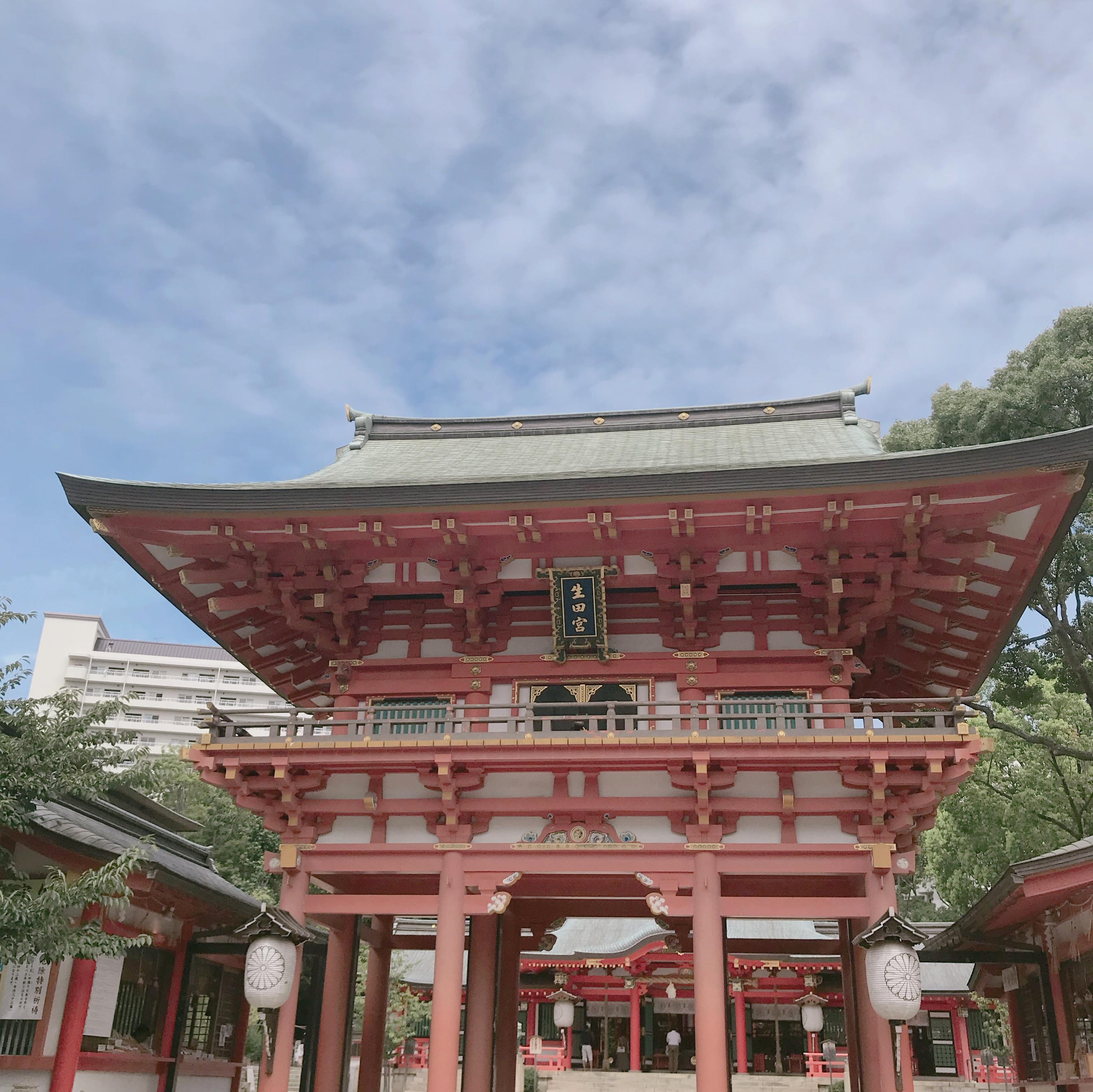 神戸の生田神社といえば縁結び❤︎新感覚【水みくじ】ができちゃうんです!_2