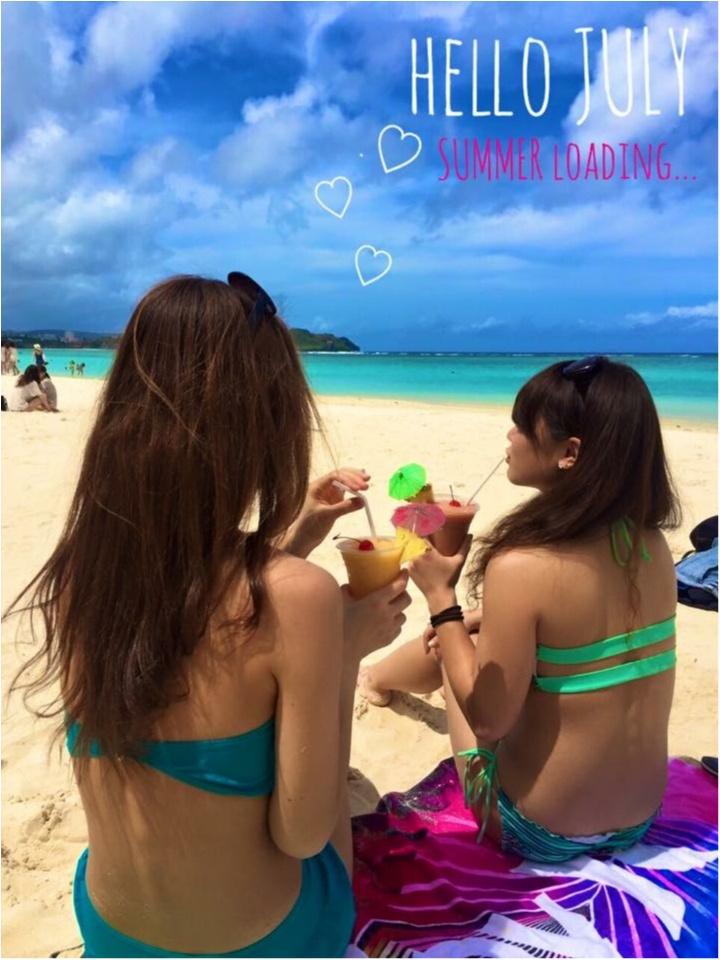 【TRIP】ビーチガールはこの夏どこ行く?!女子旅弾丸グアムのすすめ♡_1