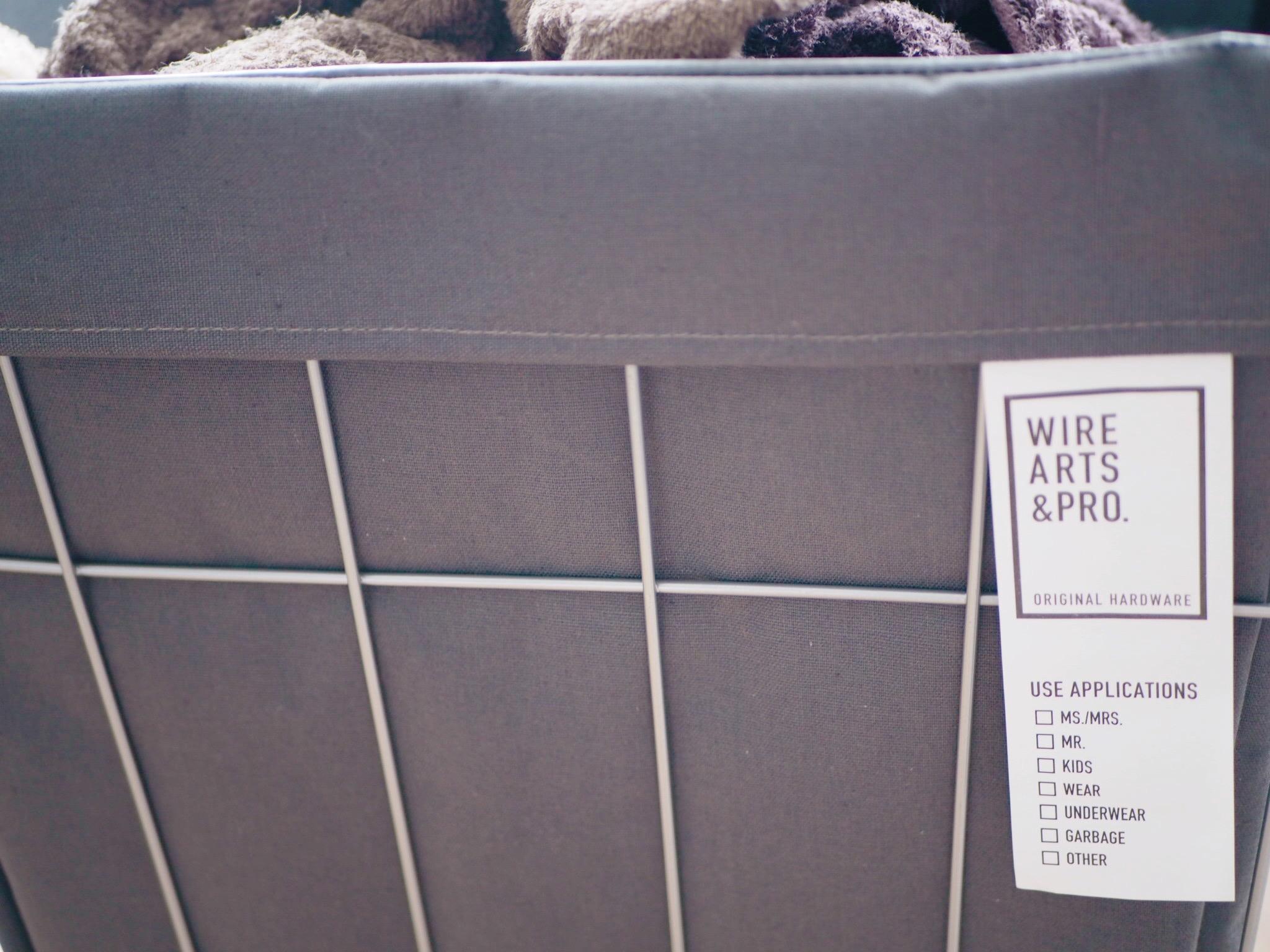 【ランドリーラック】お洗濯が楽しく楽ちんに♩ インテリアにもおすすめの【WIRE& ARTS PRO】❤︎_3
