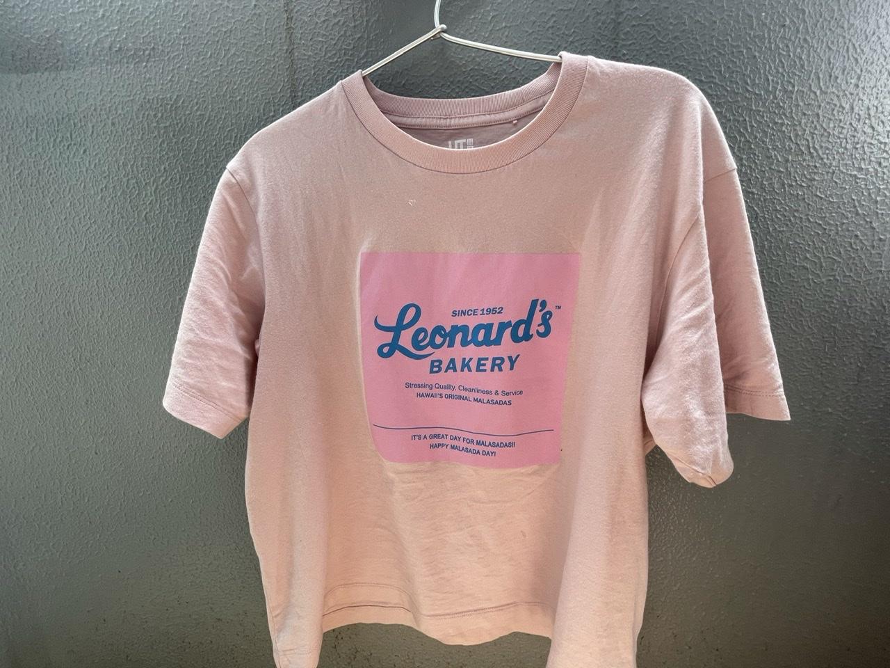 ユニクロUTのレナーズベーカリーとのコラボTシャツ