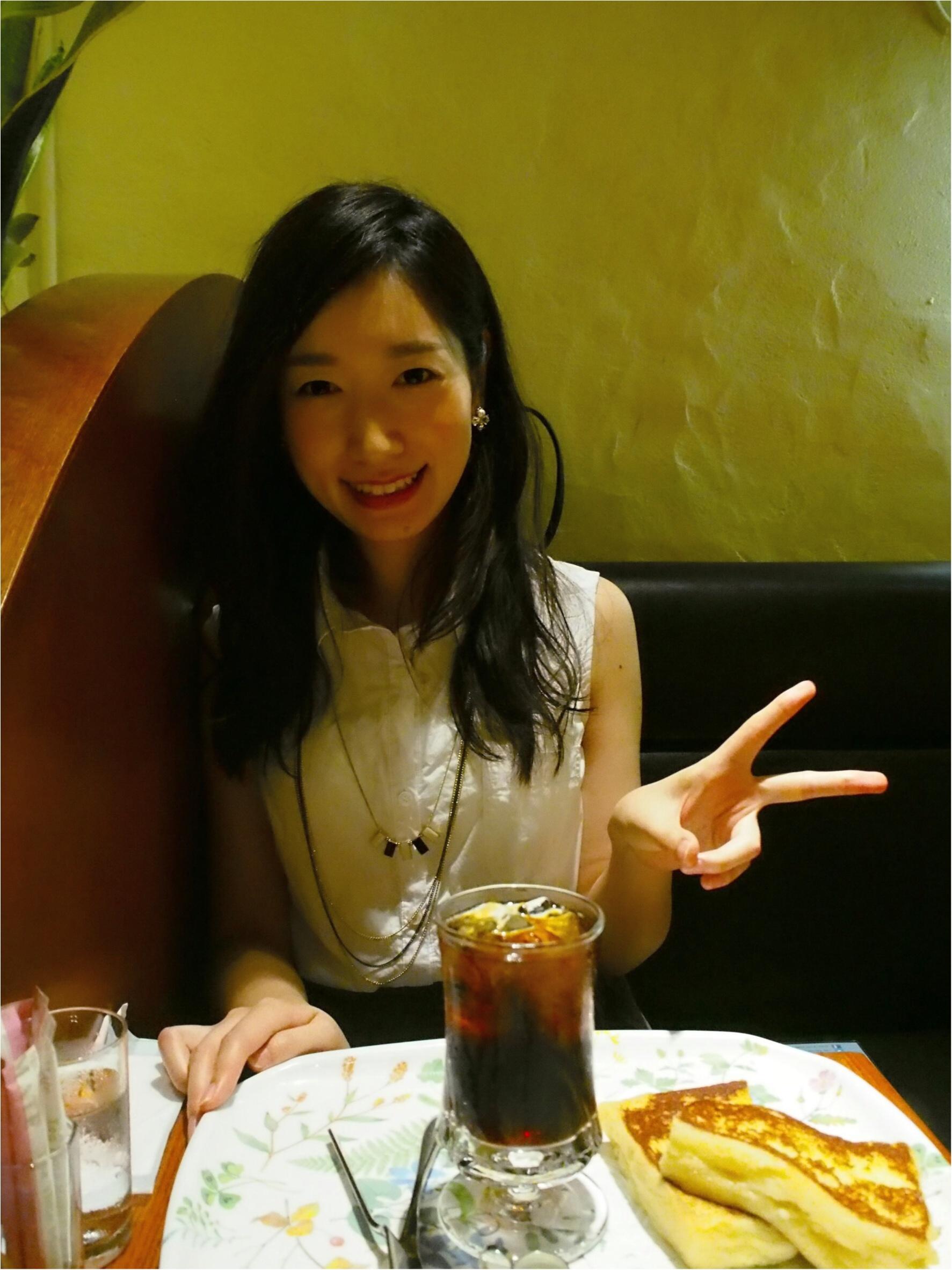 ぷるっふあ♡トロける【フレンチトースト】を新宿のカフェで体験しちゃお♩≪samenyan≫_7