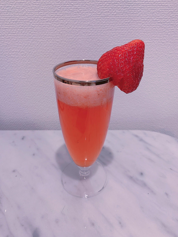 三ツ矢サイダーで作る!苺ジュースの作り方♡_1