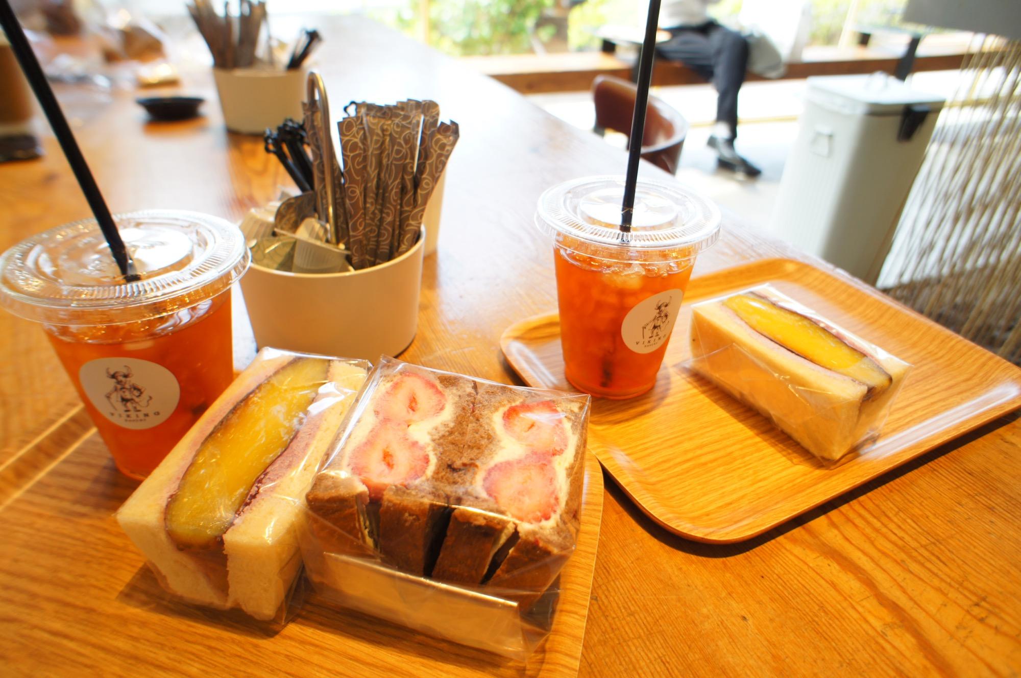 《ご当地MORE✩東京》食パン専門店❤️【VIKING BAKERY F】の絶品あまおう苺サンドイッチ☻_3