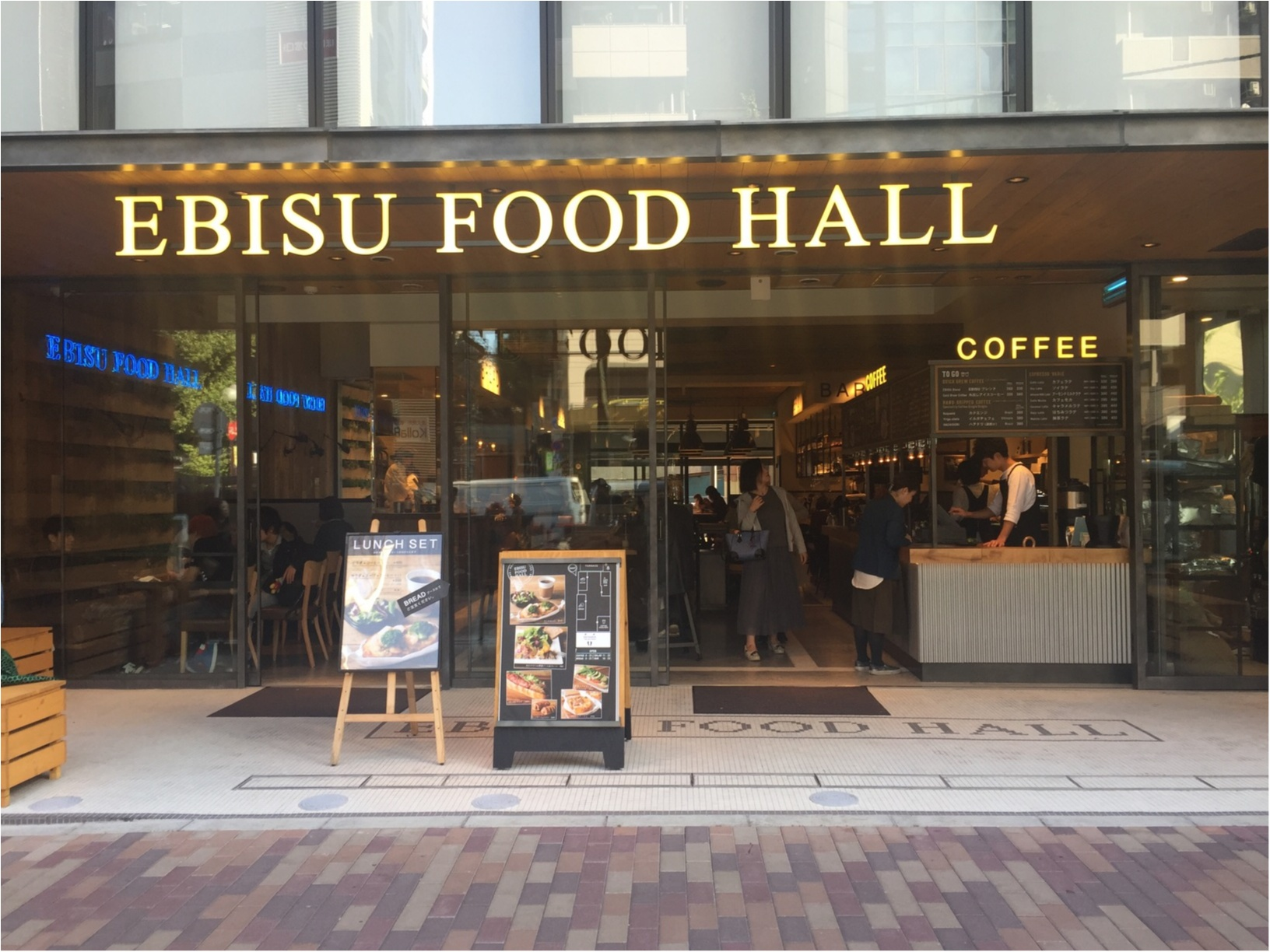 NYスタイルのお洒落なフードホール『EBISU FOOD HALL』が恵比寿にOpen✨≪samenyan≫_1