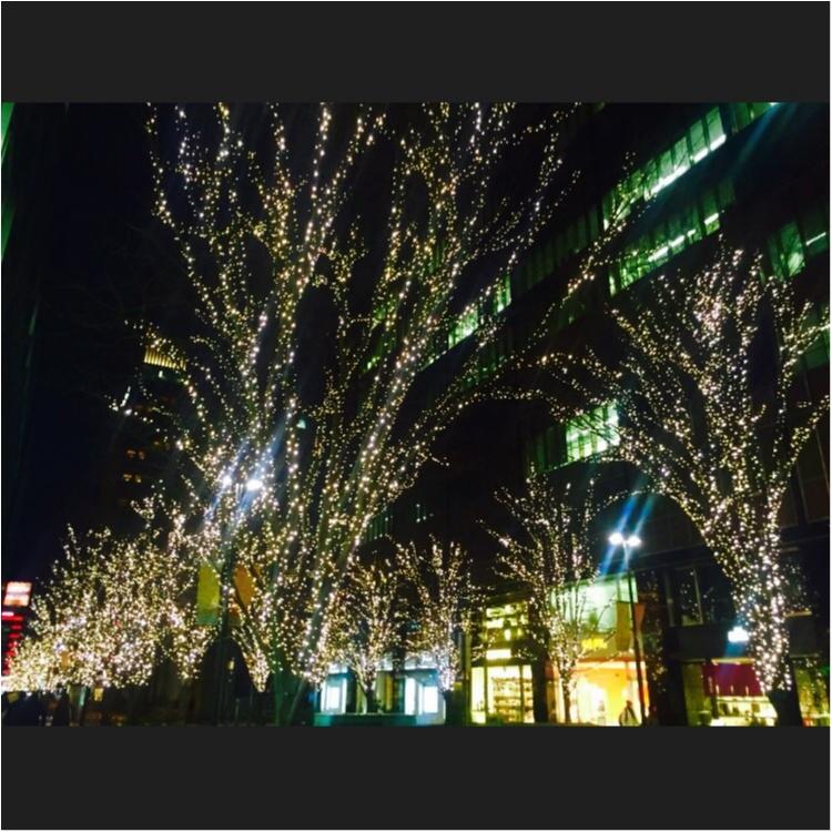 休日の夕方がおすすめ!♡丸の内イルミネーションにうっとり♡_2
