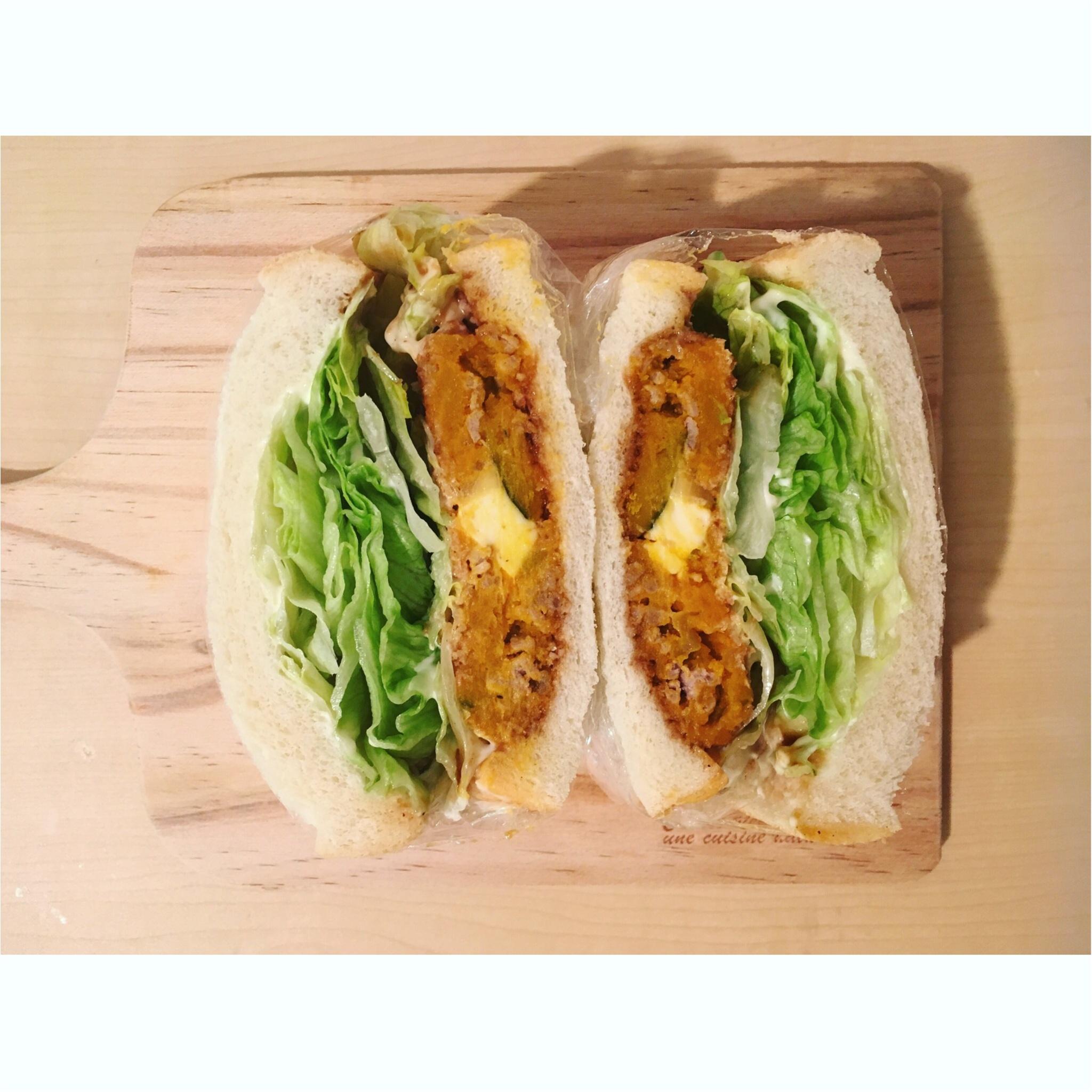 【料理▶朝ごパン☺】#萌え断シリーズ第5弾★オススメはる断サンド_3