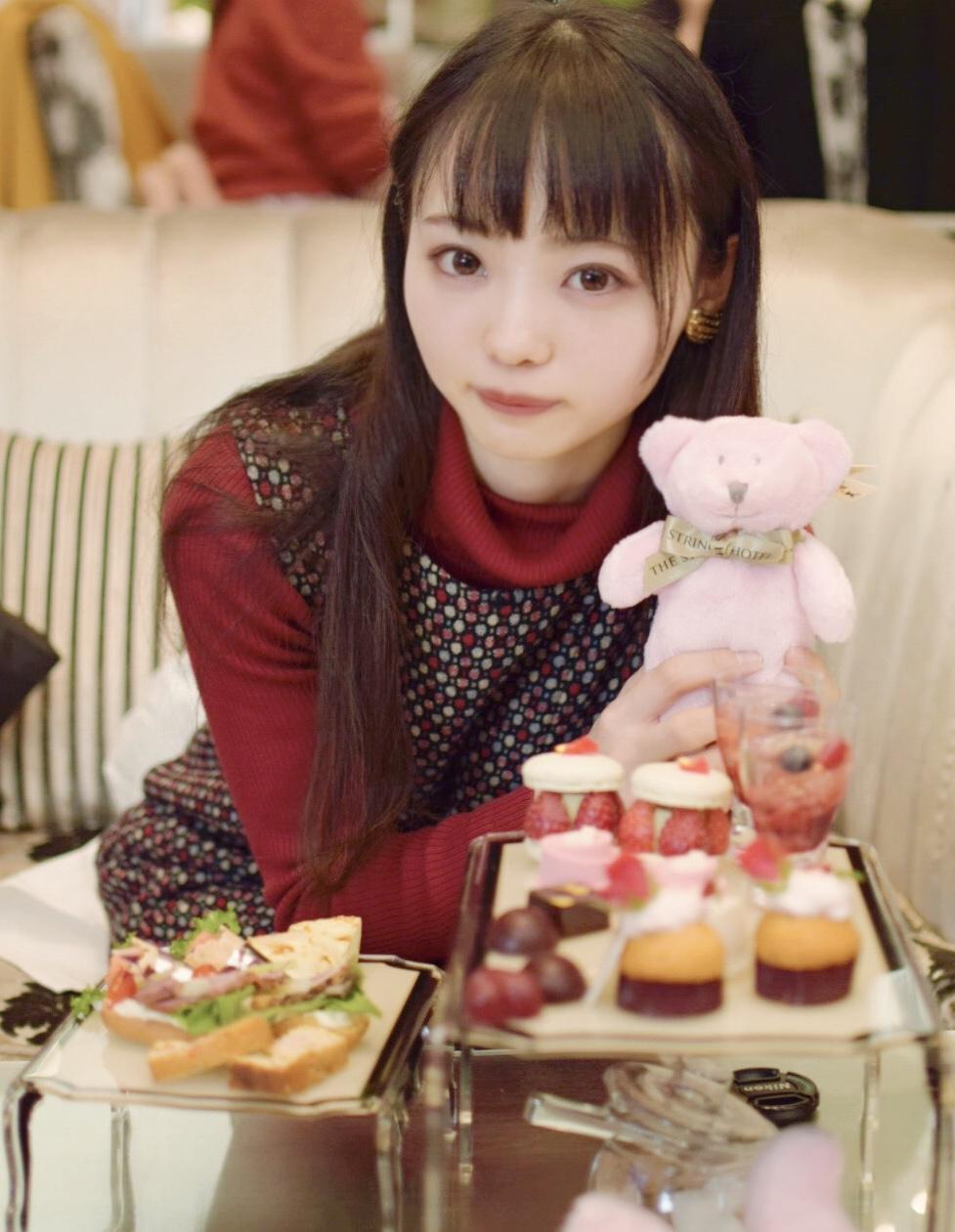 【名古屋】サーウィンストンホテル 幸せのピンクベア付きいちご&ローズアフタヌーンティー_1
