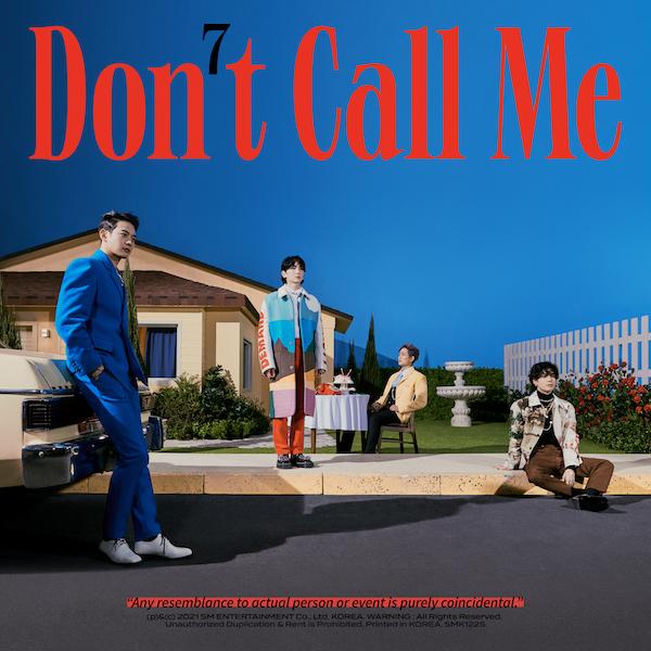 SHINeeの7thフルアルバム「Don't Call Me」のジャケット写真