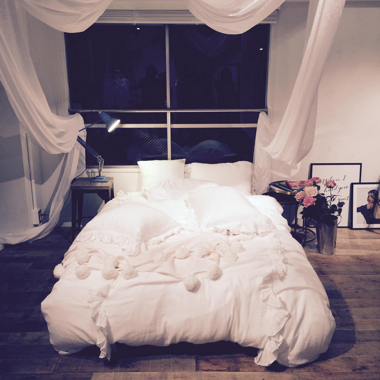 【展示会レポ】まるで映画に出てくるベッドルーム!おしゃれなリネンに包まれて眠りたい♡_1