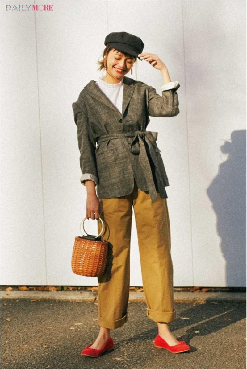 """【今日のコーデ/岸本セシル】""""おじさんライク""""なジャケットで、大好きな甘辛コーデを今っぽくイメチェン!_1"""